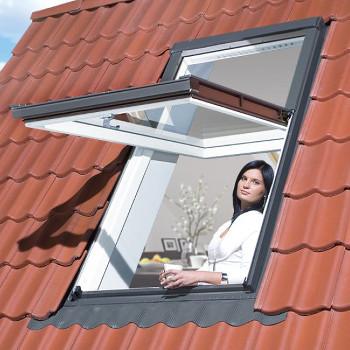 Střešní okno se zvýšenou osou otáčení