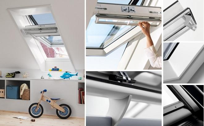 velux ggu drewniano poliuretanowe okna dachowe velux ggu. Black Bedroom Furniture Sets. Home Design Ideas
